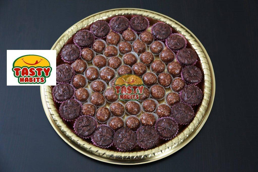 Chocolate Tray - Crispy Balls - Tasty Habits