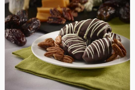 Chocolate Covered Dates - Tasty Habits