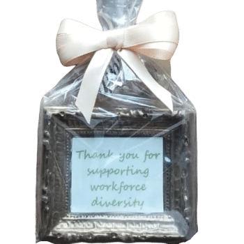 Small Chocolate Edible Picture Frame