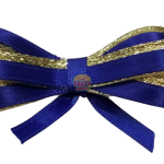 Double Bow Two Color Ribbons