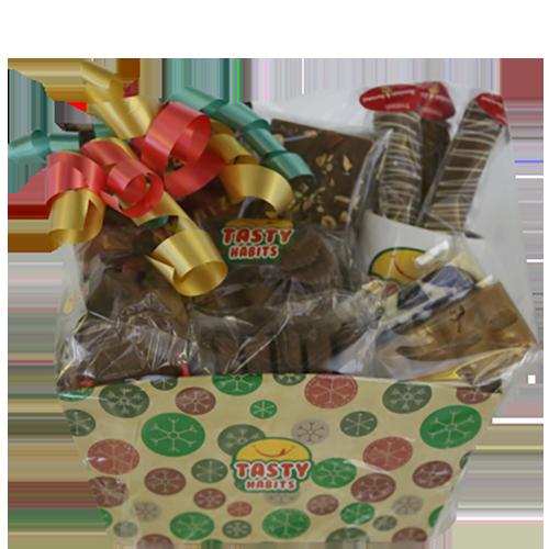 Snow Flakes Gift Basket