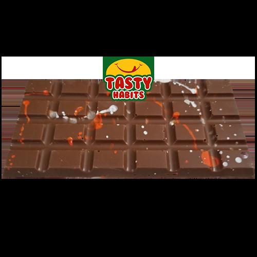Chocolate Bar with Strawberry Crispearls