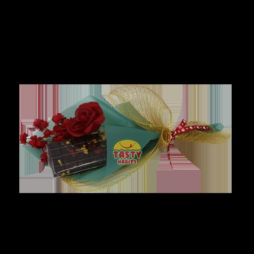 Chocolate Bark Love Bouquet (Small Bar)