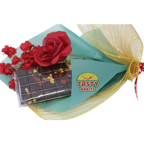 Chocolate Bark Love Bouquet (Small Bar)