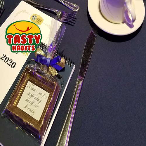 Tasty Habits Chocolate Frame at Event