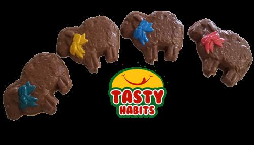 Chocolate Sheep Lollipops