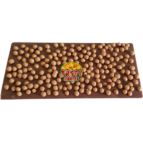 Chocolate Bar with Caramel Crispearls