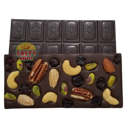 Dark Chocolate Bar with Nuts