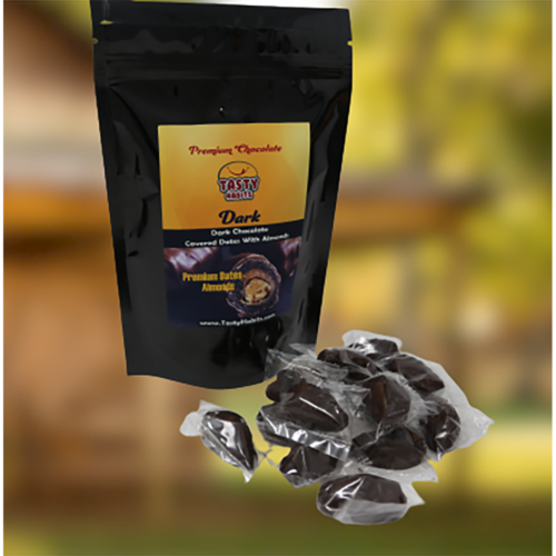 Dates Covered in Dark Chocolate Pouch