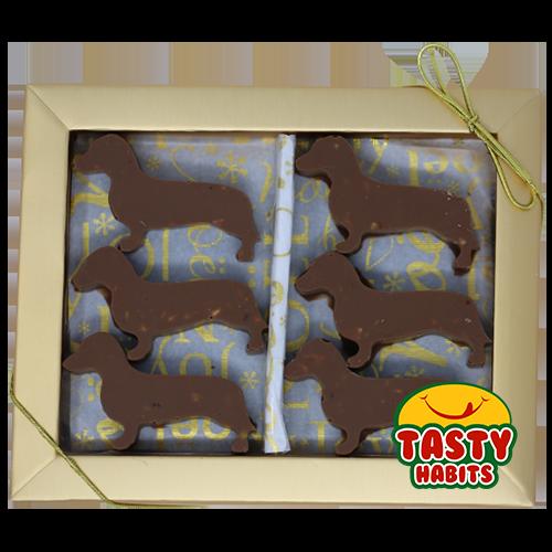 dachshunds Chocolate Box
