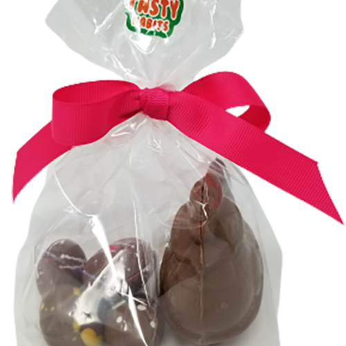 Small Easter Chocolate Chicken and Eggs