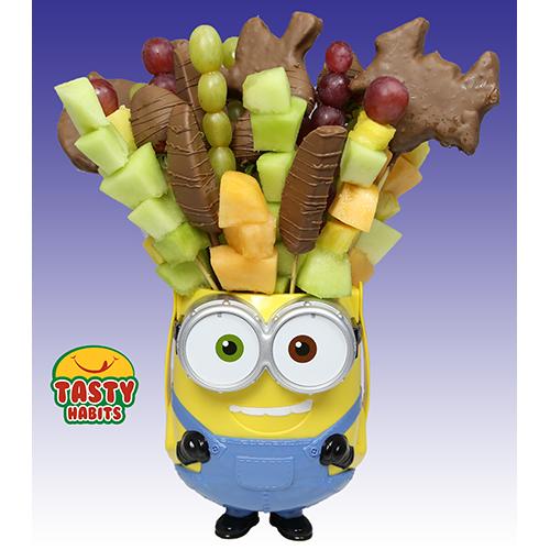 Minion Fruit Chocolate Basket