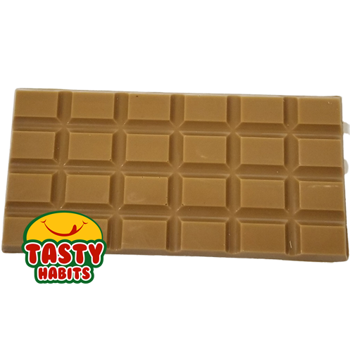 Gold Chocolate Large Bar with mixed nuts