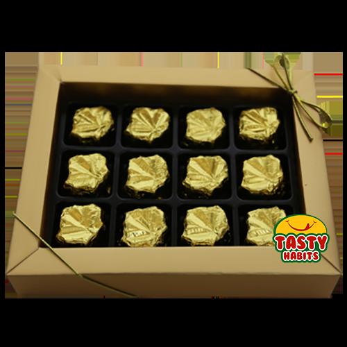 Chocolate Gold Box 12 Elegance