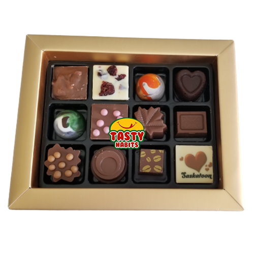 Chocolate Elegance Box B