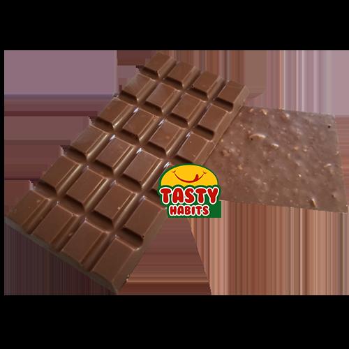 Chocolate Bar with Almond and Hazelnuts