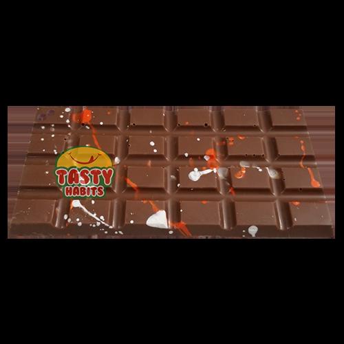 Milk Chocolate with Orange Flavor