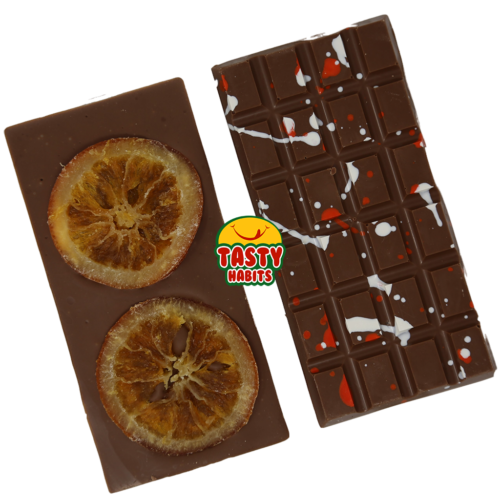 Milk Chocolate Large Bar With Dried Orange