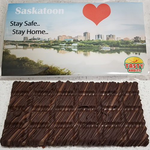 Saskatoon Chocolate Bar