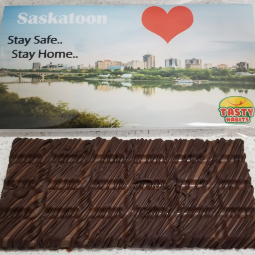 Saskatoon Love Chocolate Bar