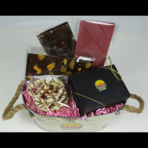 Roses Chocolate Gift Basket