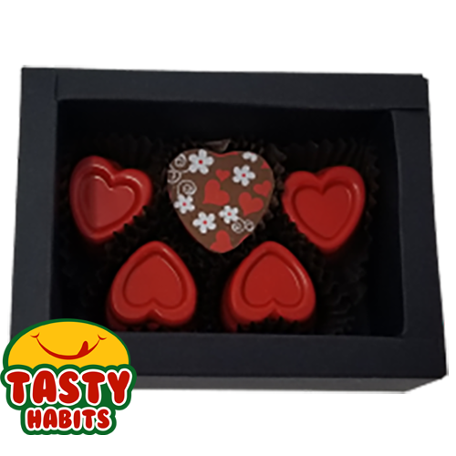 5 Hearts Love Box