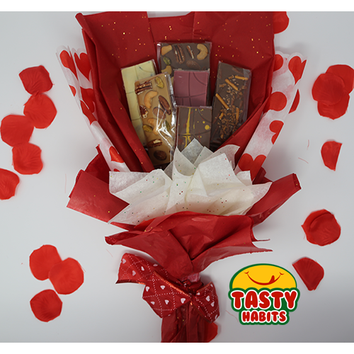 Chocolate Bars Bouquet for Valentine