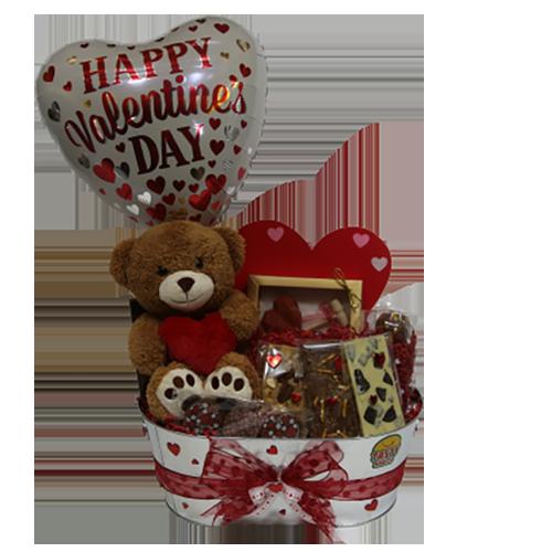 Chocolate Valentine Gift Basket