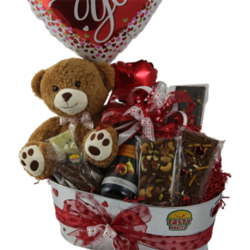 Chocolate Valentine Premium Gift Basket